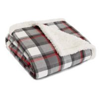 Eddie Bauer® Wallace Plaid Cinder Throw