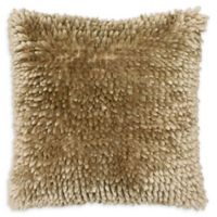 Dolce Home Butter Chenille Square Throw Pillow in Linen