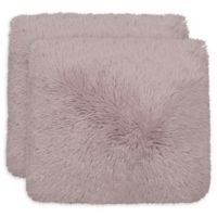 Dolce Home Alexus Square Throw Pillows in Dusty Lilac (Set of 2)