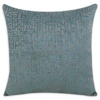 Jian Square Throw Pillow in Mineral