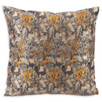 Dia Square Multicolor Throw Pillow