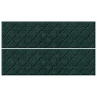 "Weather Guard™ Cordova 8.5"" x 30"" Stair Treads in Evergreen (Set of 4)"