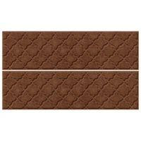 "Weather Guard™ Cordova 8.5"" x 30"" Stair Treads in Dark Brown (Set of 4)"