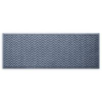 "Weather Guard™ Chevrons 22"" x 60"" Runner in Bluestone"