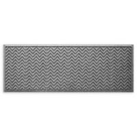 "Weather Guard™ Chevrons 22"" x 60"" Runner in Grey"