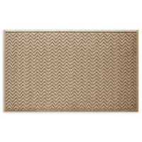 "Weather Guard™ Chevrons 35"" x 59"" Estate Mat in Red"