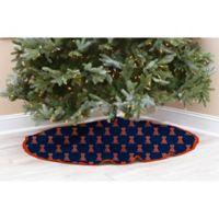 University of Illinois Christmas Tree Skirt