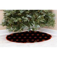 Oklahoma State University Christmas Tree Skirt