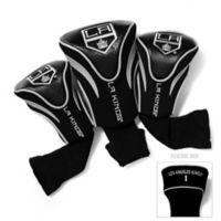 NHL Los Angeles Kings 3-Pack Golf Club Headcovers