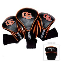 Oregon State University 3-Pack Golf Club Headcovers