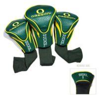 University of Oregon 3-Pack Golf Club Headcovers