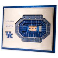 University of Kentucky 5-Layer StadiumViews 3D Wall Art