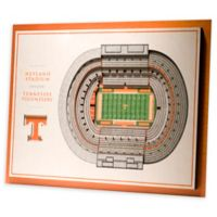 University of Tennessee 5-Layer StadiumViews 3D Wall Art