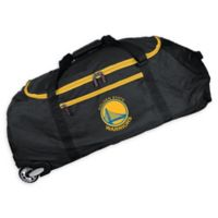 NBA Golden State Warriors 36-Inch Checked-In Rolling Duffel Bag