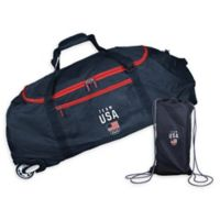 Team USA 36-Inch Checked-In Rolling Duffel in Navy