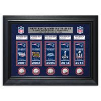New England Patriots Deluxe Banner Photo Mint