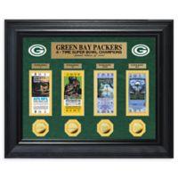 NFL Green Bay Packers Super Bowl Golden Ticket Wall Art