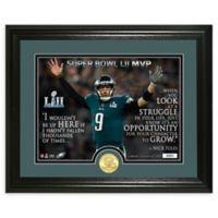 NFL Philadelphia Eagles Super Bowl Champion Quote Photo Mint