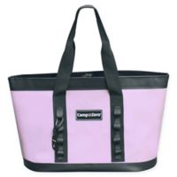 Camp-Zero Carry-All Tote Bag in Lavender/Grey
