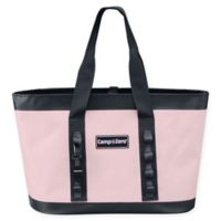 Camp-Zero Carry-All Tote Bag in Pink/Grey