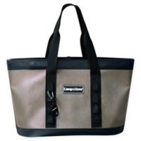 Camp-Zero Carry-All Tote Bag in Tan/Black