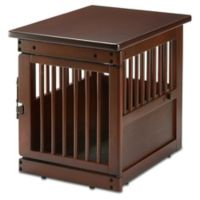 Richell® Small Wooden End Table Dog Crate
