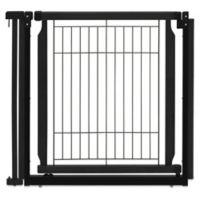 Richell® Convertible Elite Door Panel Pet Gate in Black