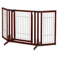 Richell® Premium Plus Pet Gate in Brown