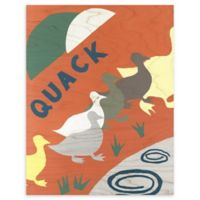 Ducks 16-Inch x 20-Inch Wood Wall Art