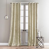 Bedeck Cairo 63-Inch Grommet Window Curtain Panel in Champagne