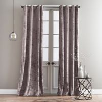 Bedeck Cairo 108-Inch Grommet Window Curtain Panel in Dusty Rose