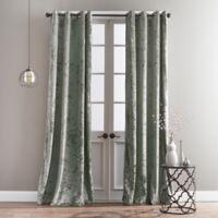 Bedeck Cairo 63-Inch Grommet Window Curtain Panel in Jade