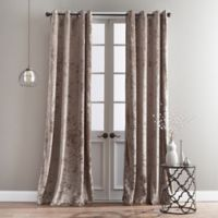 Bedeck Cairo 63-Inch Grommet Window Curtain Panel in Mink