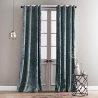 Bedeck Cairo 95-Inch Grommet Window Curtain Panel in Peacock