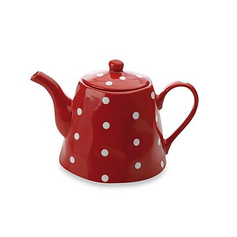 Maxwell u0026 Williams™ Sprinkle Teapot in Red  sc 1 st  Bed Bath u0026 Beyond & Maxwell u0026 Williams™ Sprinkle Teapot in Red - Bed Bath u0026 Beyond