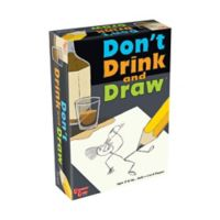 University Games Don't Drink and Draw Party Game