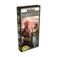 Asmodee Editions 7 Wonders Strategy Game: Leaders Expansion