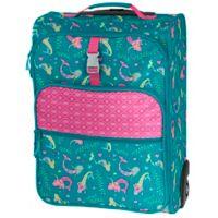 Stephen Joseph® Mermaid Rolling Luggage in Blue/Pink