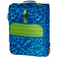 Stephen Joseph® Shark Rolling Luggage in Blue/Green
