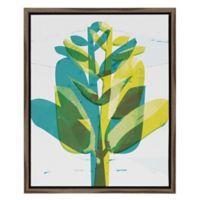 Funky Plant I 16-Inch x 20-Inch Framed Wall Art