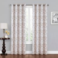 Asheville 63-Inch Grommet Blackout Window Curtain Panel in Ivory/Linen