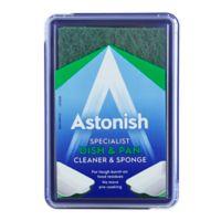 Astonish Specialist Dish & Pan Cleaner & Sponge (250g)