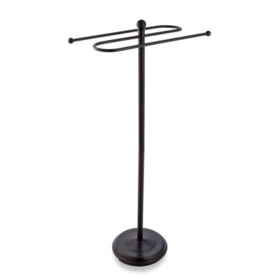 countertop towel stand. 2-Tier Bronze Towel Stand Countertop