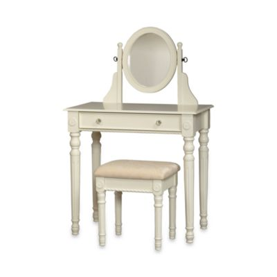 Buy Emily Bathroom Vanity Set With Stool In White From Bed