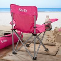 Toddler Personalized Pink Folding Camp Chair