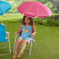 Kid's Pink Beach Chair & Personalized Umbrella Set