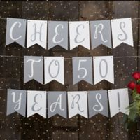 Write Your Own Personalized Anniversary Bunting Banner