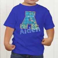 His Name Personalized Toddler T-Shirt