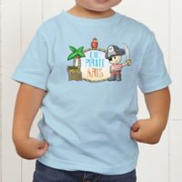 Lil' Pirate Personalized Toddler T-Shirt