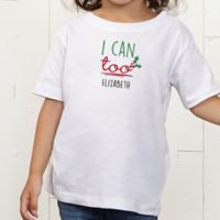 Dear Santa Personalized Toddler T-Shirt